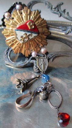 'tuileries' vintage assemblage bracelet by The French Circus, $98.00