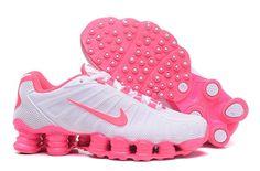 low cost 72177 4f9cf Nike Shox TLX 0018 Shoes Women White pink - Dicount Nike Store,Cheap Nike  Shoes
