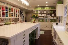 #craft #storage and #organization ideas: The PaperMint   Keisha Charles   Stationery and Memory-keeping crafts   My Field of Dreams: A Photo-tour of The PaperMint Crafting Studio