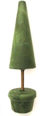 "21"" Floral Foam Topiary Cone (12"") Tree Form   $5.59 - Click to enlarge"