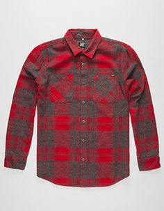 a57894c78e 61 LOST Jimmy Mens Flannel Shirt Red Mens Flannel Shirt