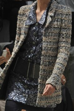 Chanel Fall 2013. Really love the jacket.