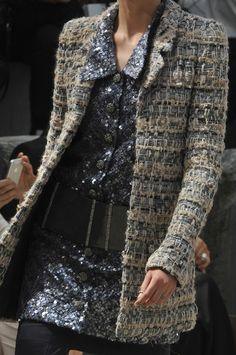 Chanel Fall 2013. Really love the jacket.