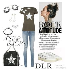 """""""DLRBOUTIQUE"""" by aspashley on Polyvore featuring Yves Saint Laurent, Valentino, ChloBo, Tiffany & Co., ZeroUV, STELLA McCARTNEY and Under the Rose"""