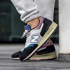Balance M997PAL *Made in USA* Herrenschuh blau / grau New Balance Sneakers, Trends, Trainers, Street Wear, Women's Fashion, Running, News, How To Make, Shoes