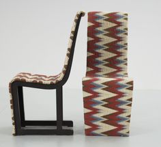 Axel-Einar Hjorth; Lacquered Pine 'Mora' Chairs for Nordiska Kompaniet, 1929.