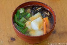 Kanto Style Ozoni Japanese Kitchen, Mochi, Cantaloupe, Meals, Fruit, Cooking, Recipes, Food, Style
