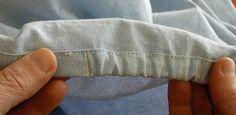 creareecucire: Come cucire un lenzuolo con angoli