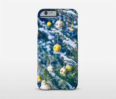 Christmas Gift Phone Case Christmas Tree Print by Macrografiks