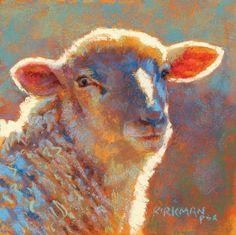 "Rita Kirkman, ""Celestia"" (pastel, 6x6"")"