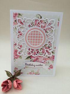 Beautiful Birthday Cards, Beautiful Christmas Cards, Birthday Cards For Women, Female Birthday Cards, Beautiful Handmade Cards, Handmade Birthday Cards, Cricut Cards, Stampin Up Cards, Christian Crafts