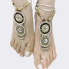 Foot Jewelry...$24.99 ONLINE AT http://Petunias-of-Naples2.shoptiques.com