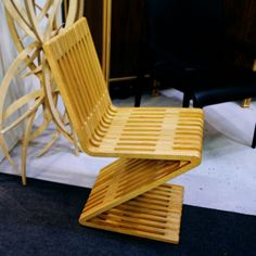 2014 Architectural Digest Home Design Show | Mobel Link — Zag Zig chair