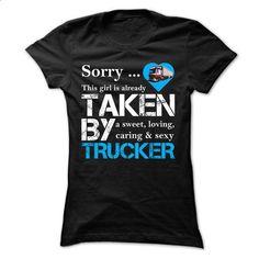 Trucker Girl - #tshirt designs #custom hoodie. BUY NOW => https://www.sunfrog.com/LifeStyle/Trucker-Girl-Ladies.html?60505