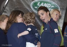 The Duke and Duchess of Cambridge visited Portsmouth where they met teams taking part in the America's Cup World Series. They also spoke to schoolchildren who have benefited from the work of the 1851 Trust - a trust supported by the Land Rover Ben Ainslie Racing Team which aims to encourage young people to learn to sail and to consider careers in the sailing industry: