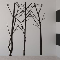 could be used in multiples--add leaves? tree wall decals wall stickers for bedroom living by JwheStore, $79.00