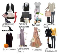 """""""hogwarts fashion"""" by blueberry483 ❤ liked on Polyvore featuring Old Navy, Chloé, Primp, Victoria's Secret, Forever 21, Alberta Ferretti, Ruthie Davis, Philosophy di Alberta Ferretti, Juicy Couture and Wet Seal"""