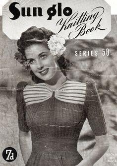 PDF 1940s knits for women entire book of patterns 8 par Juandah
