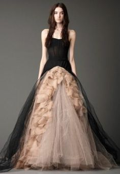 Abito da sposa nero Vera Wang - Black wedding dress Vera Wang