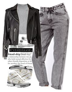 """""""."""" by fuckedchanel ❤ liked on Polyvore featuring Topshop, ASOS and Chanel"""