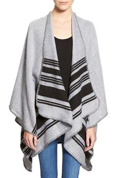Free shipping and returns on BP. Horizontal Stripe Poncho at Nordstrom.com. Throw this lightweight woven poncho over your favorite outfit for extra warmth during the cooler seasons.