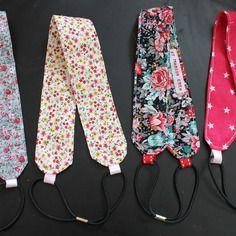 Serre tête - bandeau enfant et bébé - liberty ou étoile - création unique http://etmarioncrea.blogspot.fr/ ou sur facebook et Marion créa