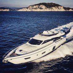 Ferretti Yachts 750 22.75m  Build by @ferrettigroup  #iyachtdesign #yachting #yachtlife #luxwt