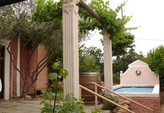 """Liefling"""" Guest Cottages Cottages, Gazebo, Arch, Outdoor Structures, Garden, Holiday, Cabins, Kiosk, Longbow"""