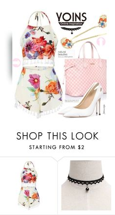 """""""Floral Co-Ord"""" by jahkun ❤ liked on Polyvore featuring yoinscollection"""