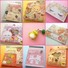 Suze likes, loves, finds and dreams: Giveaway: Kawaii Stationery, Stickers & Strap!