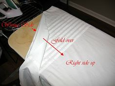 Petticoat Tucks tutorial. To save myself the thinking time when trying to put growth tucks in petticoats!
