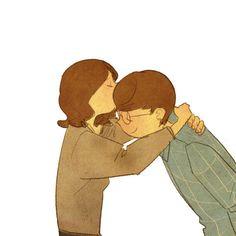많이 힘들죠?  기운내요. 잘자요.쪽!고마워요.휴대폰 그만하고 날 좀 봐요! 키스해줘요!