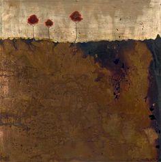 Three Red Trees by Wayne Berger