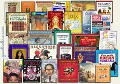 Ancient history curriculum books, week by week suggestions for Mystery of History Vol I