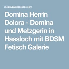 Hassloch domina Blog Archives