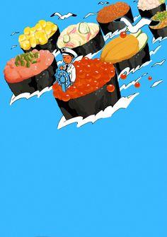 Sushi: King of Japanese Cuisine - pixiv Spotlight