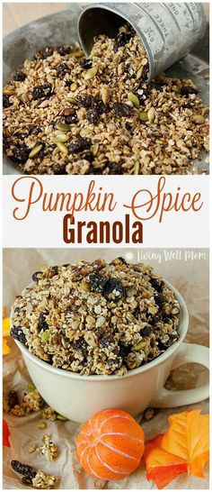 Granola cereal, Granola and Cereal recipes on Pinterest
