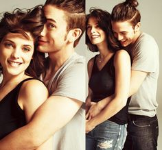 Ashley Greene & jackson rathbone.. they're so cute :)