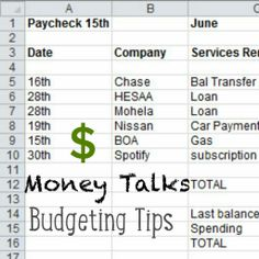 Money Matters.. Budgeting tips for you! On SnapGinger Blog! www.snapginger.com