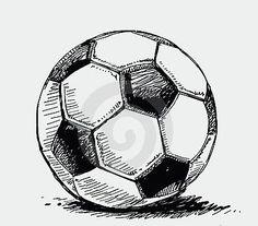 Photos, illustrations et art vectoriel - Soccer ball drawing Soccer Pro, Soccer Tips, Play Soccer, Football Players, Soccer Ball, Basketball Jersey, Live Soccer, Soccer Workouts, Soccer Games