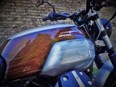 A garage for special motorcycles and cafe racers Guzzi V7, Moto Guzzi, Honda Cbx, Custom Cafe Racer, Cb750, Scrambler, Custom Bikes, Bobber, Motorbikes
