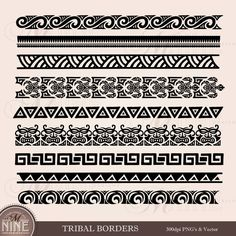 Five Things You Need To Know About Tribal Tattoo Border Designs Today Maori Tribal Tattoo, Hawaiian Tribal Tattoos, Samoan Tattoo, Maori Tattoos, Samoan Tribal, Filipino Tribal, Borneo Tattoos, Tribal Wave Tattoos, Turtle Tattoos