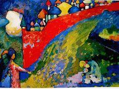 La explosión de color de Kandinski y de Hockney, en medio de la duermevela.