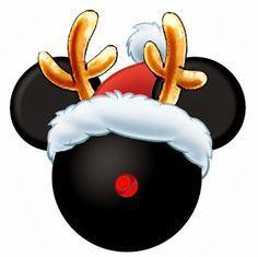 CHRISTMAS MICKEY MOUSE CLIP ART