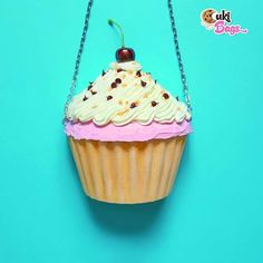 Hands up everybody who loves cupcakes! Eat it wear it love it