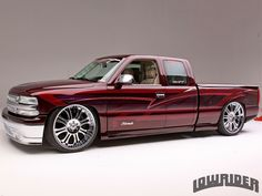 , his desire to have a custom car never changed but the style he wanted to build did. Check out his 2000 Chevrolet Silverado here! Custom Chevy Trucks, Chevy Pickup Trucks, Old Ford Trucks, Chevy Pickups, Custom Cars, 2000 Chevy Silverado, Chevy Ss, Chevy Silverado 1500, Lifted Chevy Trucks