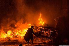 Revolution in Kiev, Ukraine