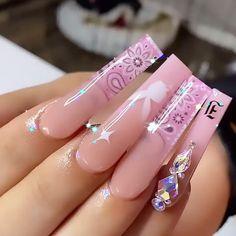 Sexy Nail Art, Sexy Nails, Cute Nails, Pretty Nails, Mani Pedi, Pedicure, Bling Wallpaper, Nail Jewelry, Baby Hands