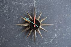 George Nelson Sunburst Clock #2202