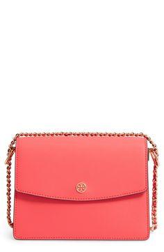 New Tory Burch Parker Leather Shoulder/Crossbody Bag fashion online. [$395]?@shop.seehandbags<<